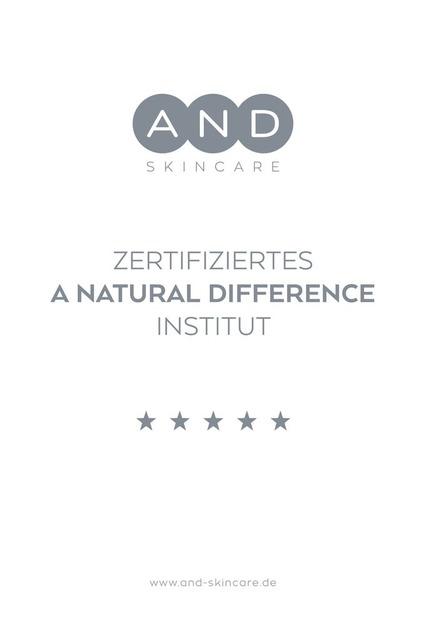 Kleine_Auszeit_Kosmetik_AND Zertifikat