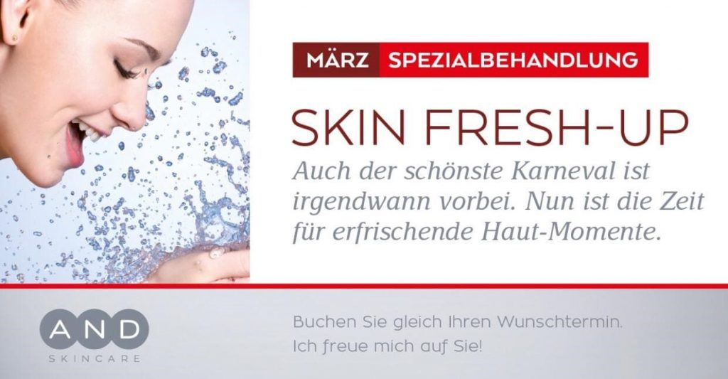 Kleine Auszeit_Spezialbehandlung_Skin Fresh-Up